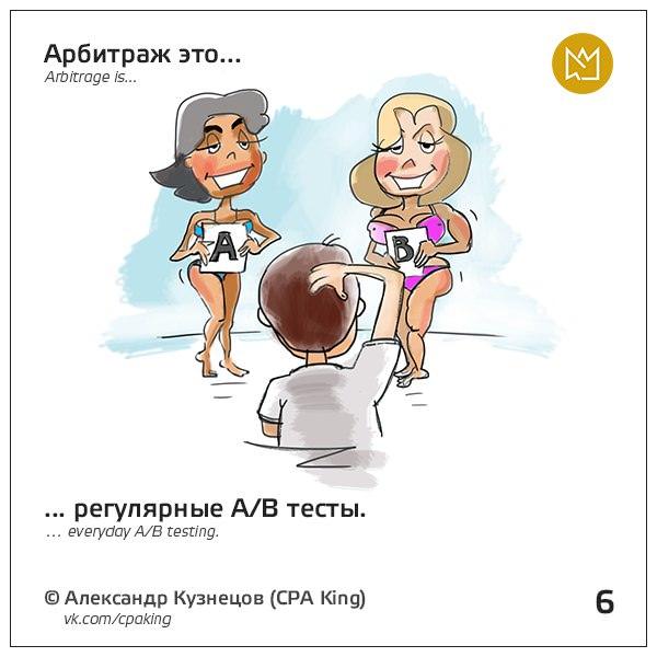 Арбитраж — это регулярные A/B-тесты.